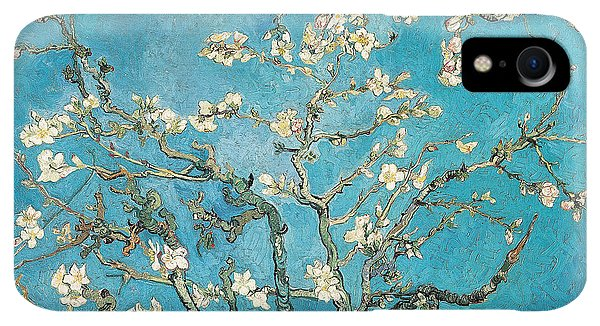 Print iPhone XR Case - Almond Branches In Bloom by Vincent van Gogh