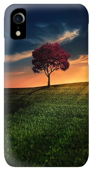 Print iPhone XR Case - Awesome Solitude by Bess Hamiti
