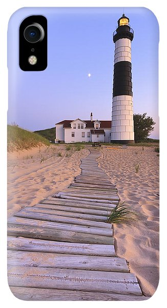 Scenic iPhone XR Case - Big Sable Point Lighthouse by Adam Romanowicz