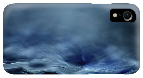 Flow iPhone XR Case - Blue Fantasy by Willy Marthinussen