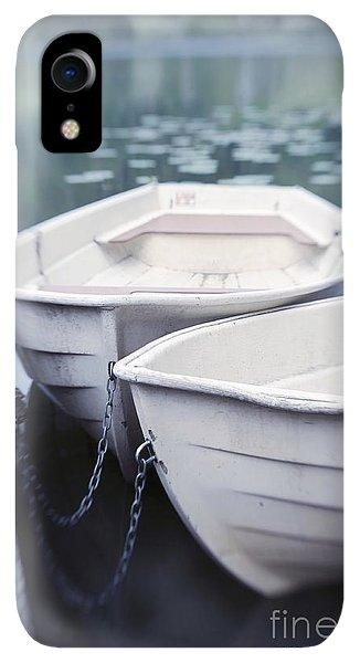 Boats iPhone XR Case - Boats by Priska Wettstein