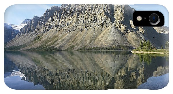 Rocky Mountain iPhone XR Case - Bow Lake And Crowfoot Mts Banff by Tim Fitzharris