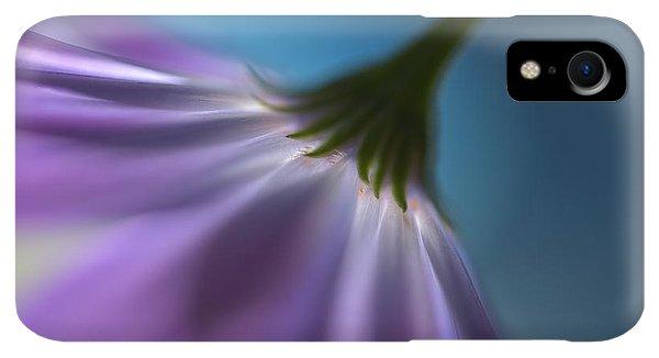 Violet iPhone XR Case - Bright Marguerites by Heidi Westum