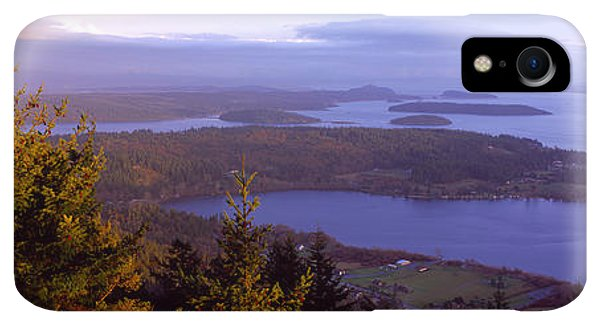 Whidbey iPhone XR Case - Campbell Lake And Whidbey Island Wa by Panoramic Images