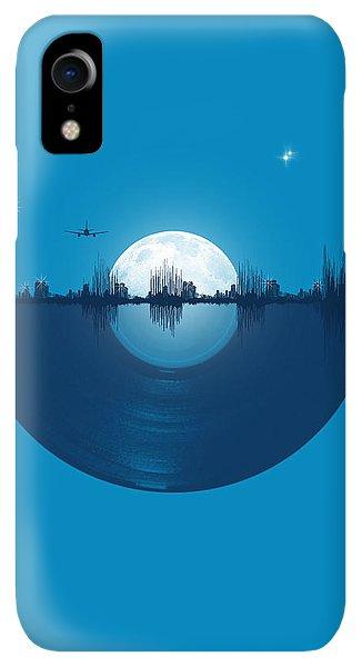 Space iPhone XR Case - City Tunes by Neelanjana  Bandyopadhyay