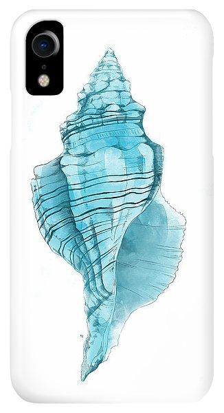 Print iPhone XR Case - Conch by Randoms Print