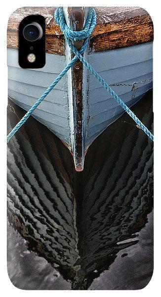 Boats iPhone XR Case - Dark Waters by Stelios Kleanthous