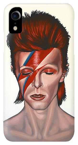 iPhone XR Case - David Bowie Aladdin Sane by Paul Meijering