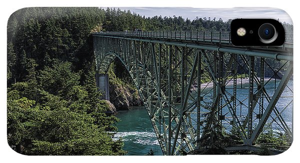 Whidbey iPhone XR Case - Deception Pass by Joan Carroll