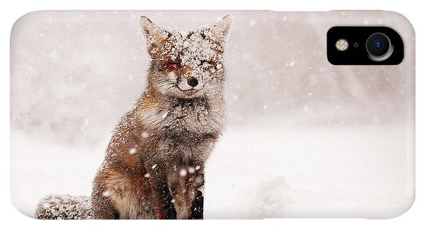 Winter iPhone XR Case - Fairytale Fox _ Red Fox In A Snow Storm by Roeselien Raimond