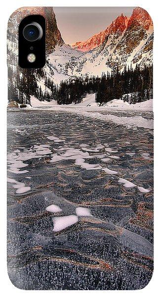 Rocky Mountain iPhone XR Case - Flozen Dreams by Ryan Smith