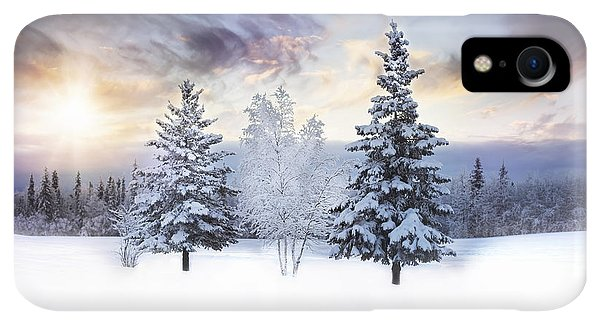 Winter iPhone XR Case - For The Love Of Winter by Amber Fite