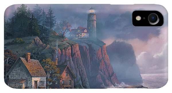 iPhone XR Case - Harbor Light Hideaway by Michael Humphries