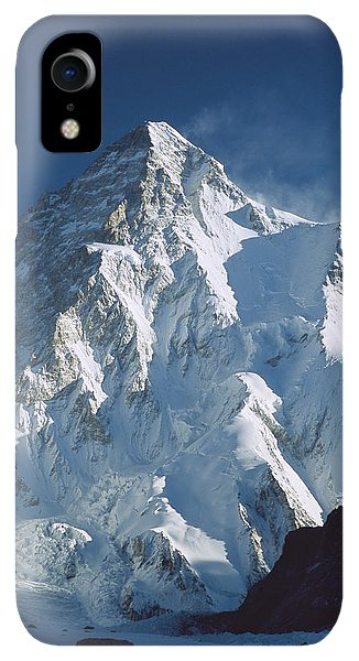 Winter iPhone XR Case - K2 At Dawn Pakistan by Colin Monteath