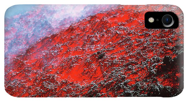 Etna iPhone XR Case - Lava Flow by Jeremy Bishop/science Photo Library