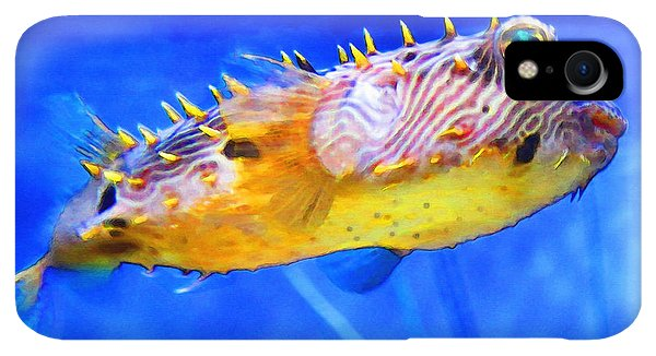 Scuba Diving iPhone XR Case - Magic Puffer - Fish Art By Sharon Cummings by Sharon Cummings