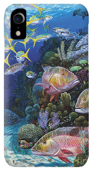 Scuba Diving iPhone XR Case - Mutton Reef Re002 by Carey Chen