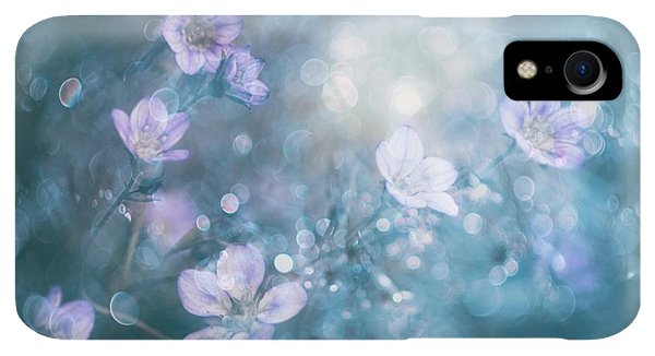 Violet iPhone XR Case - Nature's Jewelry by Delphine Devos