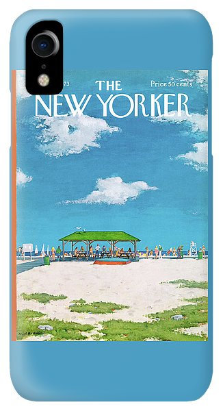 20th iPhone XR Case - New Yorker August 20th, 1973 by Albert Hubbell