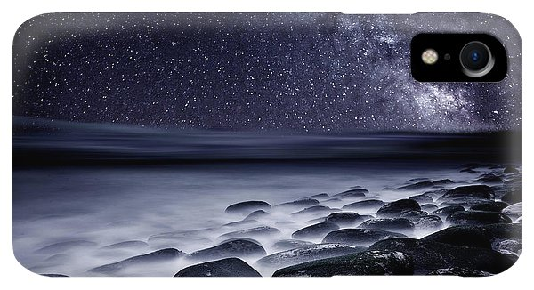 Flow iPhone XR Case - Night Shadows by Jorge Maia