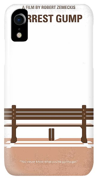 Print iPhone XR Case - No193 My Forrest Gump Minimal Movie Poster by Chungkong Art