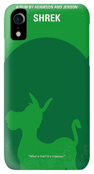 Fairy iPhone XR Case - No280 My Shrek Minimal Movie Poster by Chungkong Art
