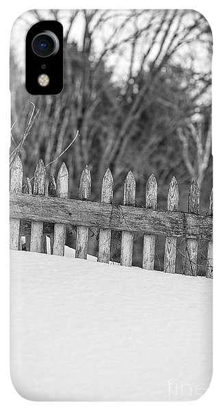 Etna iPhone XR Case - Picket Fence by Edward Fielding