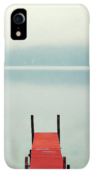Winter iPhone XR Case - Red by Carrie Ann Grippo-Pike