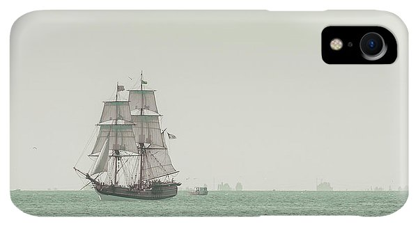 Boats iPhone XR Case - Sail Ship 1 by Lucid Mood