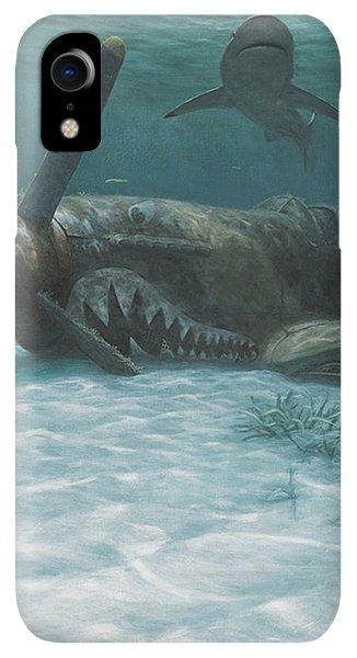 Scuba Diving iPhone XR Case - Sand Shark by Randall Scott