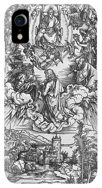 Albrecht Durer iPhone XR Case - Scene From The Apocalypse by Albrecht Durer or Duerer