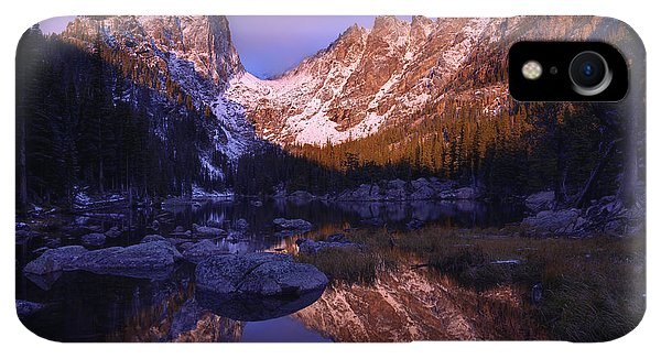 Rocky Mountain iPhone XR Case - Second Light by Chad Dutson