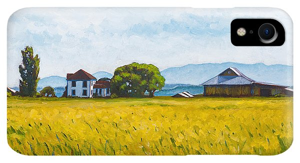 Whidbey iPhone XR Case - Smith Farm by Stacey Neumiller