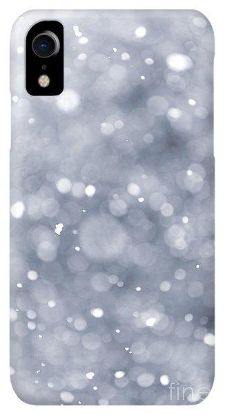 Winter iPhone XR Case - Snowfall  by Elena Elisseeva