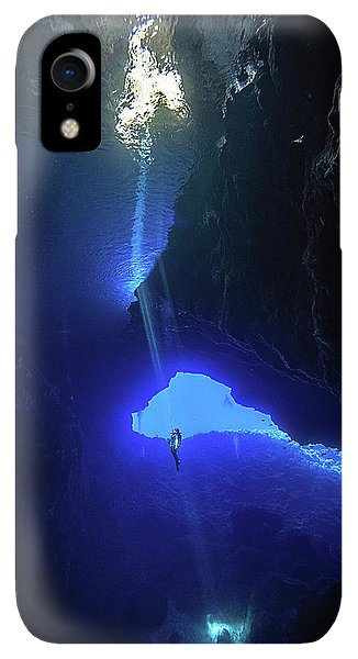 Scuba Diving iPhone XR Case - Sound From Sky by Charlie Jung