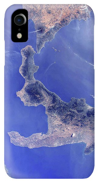 Etna iPhone XR Case - Southern Italy by Nasa