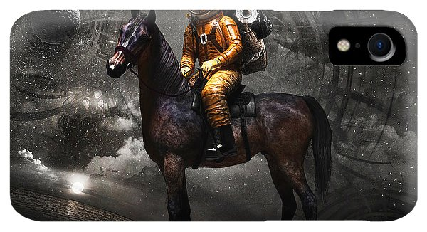 Space iPhone XR Case - Space Tourist by Vitaliy Gladkiy