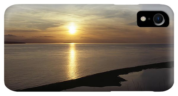 Whidbey iPhone XR Case - Sunset Over The Sea, Ebeys Landing by Panoramic Images