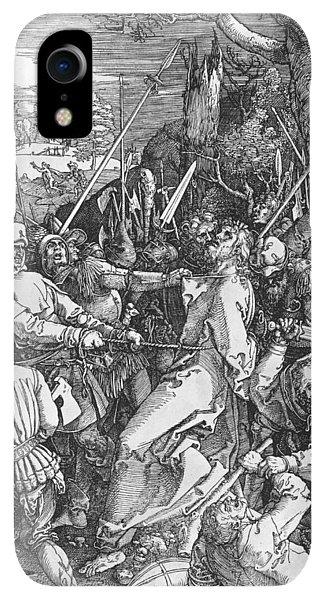 Albrecht Durer iPhone XR Case - The Arrest Of Jesus Christ by Albrecht Durer or Duerer