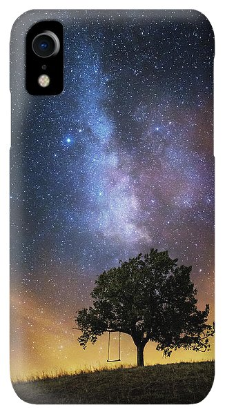 Fairy iPhone XR Case - The Dreamer's Seat by Luk???? Ild??a