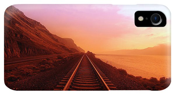 Scenic iPhone XR Case - The Long Walk To No Where  by Jeff Swan
