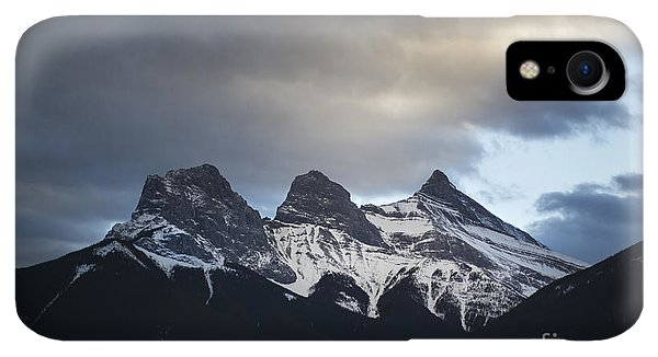 Rocky Mountain iPhone XR Case - Three Sisters - Special Request by Evelina Kremsdorf