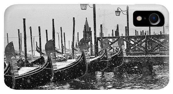 Winter iPhone XR Case - Winter In Venice by Yuri San