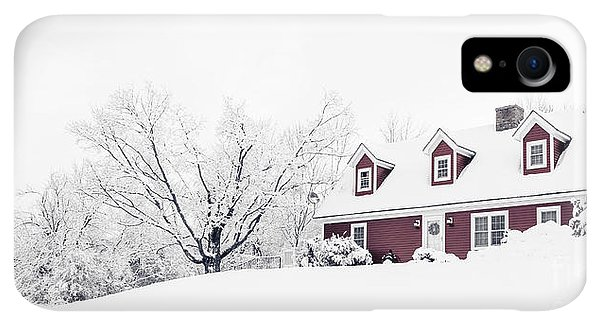 Etna iPhone XR Case - Winter Wonderland by Edward Fielding