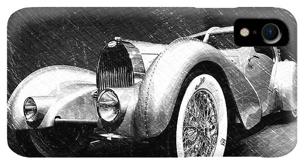 Dick Goodman iPhone XR Case - Bugatti Type 57 Aerolithe by Dick Goodman