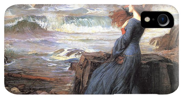 20th iPhone XR Case - Miranda - The Tempest by John William Waterhouse