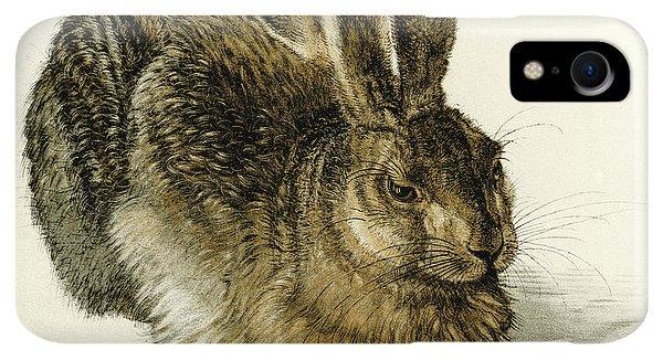 Albrecht Durer iPhone XR Case - Young Hare by Albrecht Durer
