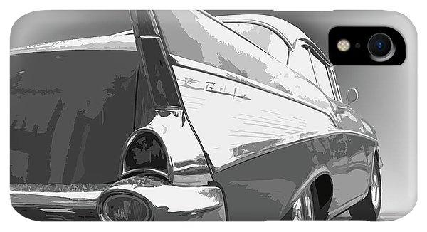 Dick Goodman iPhone XR Case - 57 Chevy Horizontal by Dick Goodman