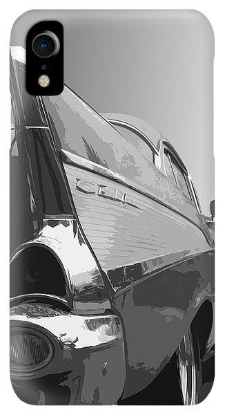 Dick Goodman iPhone XR Case - 57 Chevy Verticle by Dick Goodman