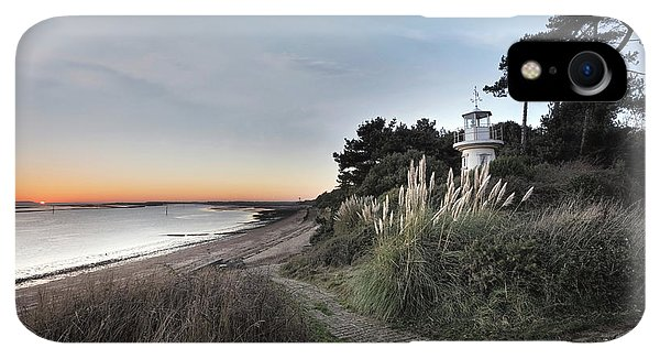 Scenic iPhone XR Case - Lepe - England by Joana Kruse